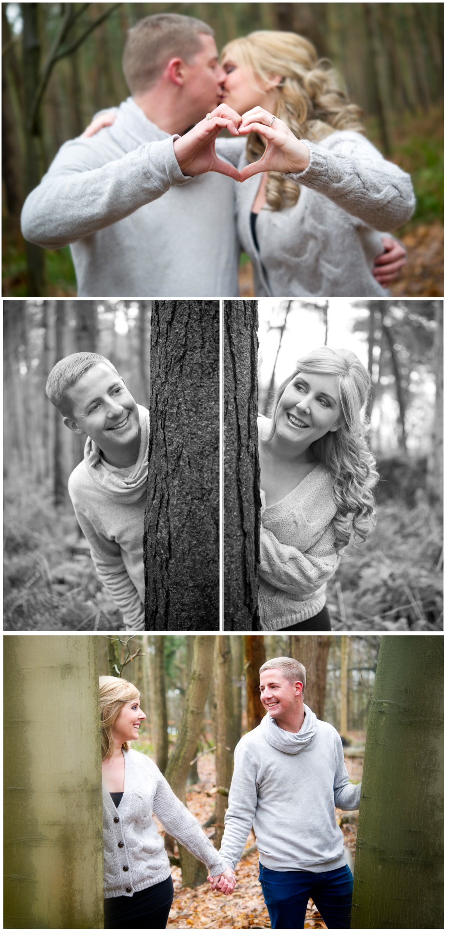 A Woodland Photo-shoot with Vicky and Chris